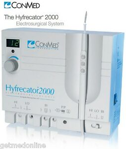 New Conmed Hyfrecator 2000 Dessicator Electrosurgical Generator 7 900 115