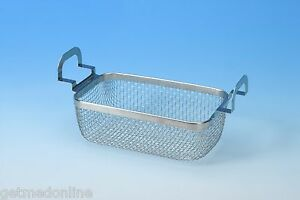 New Stainless Steel Mesh Basket For Branson 1500 1800 Series Part No 100 916 333