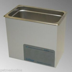 New Sonicor Stainless Steel Tabletop Ultrasonic Cleaner 1 Gal Capacity S 101