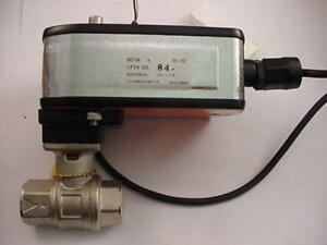 Belimo Lf24 Us Actuator 24 Vac dc 3 4 Npt Valve Ships The Same Day Of Purchase