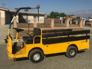 2008 Taylor Dunn B2 48 Industrial Flatbed Electric Utility Cart