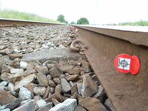 10 Railway Survey Targets Ideal For All Fixed Monitoring Or All Control Points