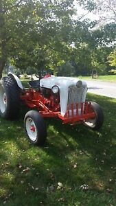 1953 Ford Jubilee With Woods Rm 72 Mower