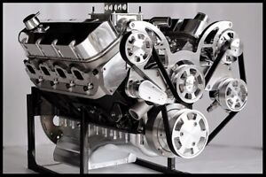 Bbc Chevy 572 Turn Key Engine Merlin Iv Block 740 Hp serpentine