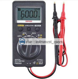 Digital Multimeters Ac True Rms Pocket Size Dmm Sanwa Pm 300 Pm300