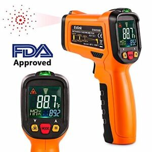 Es6530b Non contact Digital Laser Ir Infrared Thermometer Temperature Gun For To