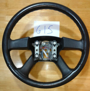 2003 2006 Chevy Silverado Steering Wheel Leather 1500 2500 3500 Hd