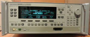 Agilent 83640b Synthesized Swept Signal Generator 10 Mhz To 40 Ghz