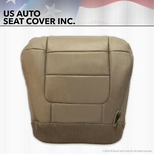 2001 2002 Ford F150 Lariat Xlt Super Crew Driver Bottom Leather Seat Cover Tan