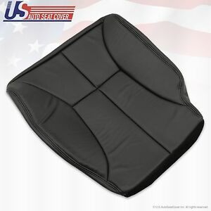 1998 1999 2000 2001 Dodge Ram 1500 Driver Bottom Leatherett Seat Cover Dark Gray