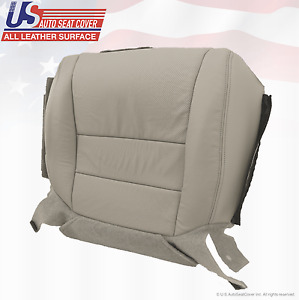 For 2007 2008 Acura Tl Driver Bottom Perforated Leather Replacement Seat Taupe