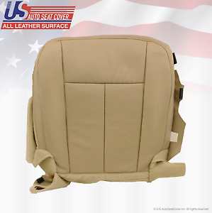 2007 2008 Ford Expedition Limited Driver Bottom Perforated Leather Cover Tan