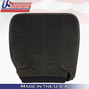 2004 Dodge Ram 2500 Slt Driver Bottom Replacement Cloth Seat Cover Dark Gray