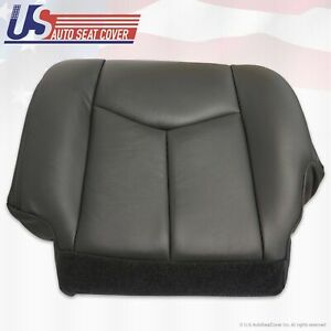 2003 2004 2005 2006 Chevy Gmc Duramax Truck Driver Bottom Seat Cover Dark Gray