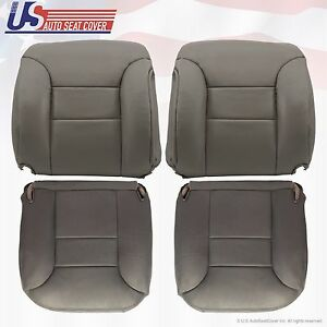 1995 To 1999 Chevy Tahoe Suburban Front Driver passenger Upholstery Seat Covers
