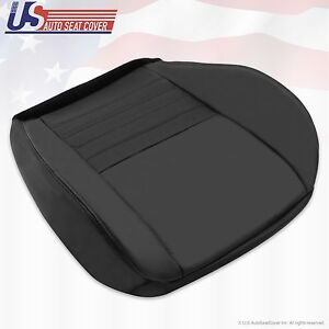 1999 2000 2001 2002 2003 2004 Ford Mustang Gt Driver Bottom Seat Cover Black