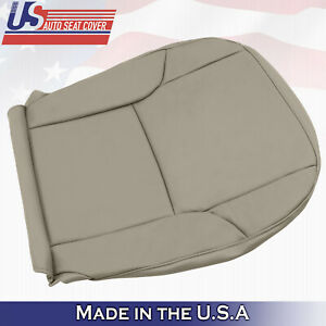 Fits 2003 2009 Toyota 4runner Limited Driver Bottom Vinyl Seat Cover Color Tan