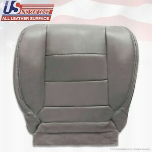 2002 2007 Ford F250 F350 Lariat Extended Cab Driver Bottom Leather Seat Cover