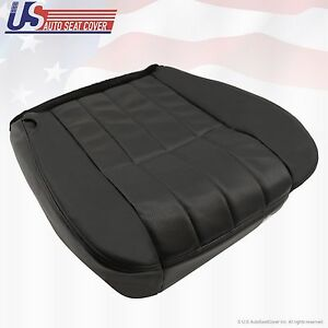 2006 Ford F250 Harley Davidson Driver Bottom Perforated Leather Seat Cover Black