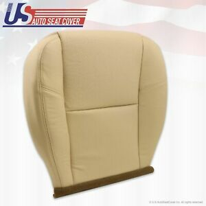 2007 2011 Escalade Driver Bottom Oem Replacement Leather Seat Cover Tan