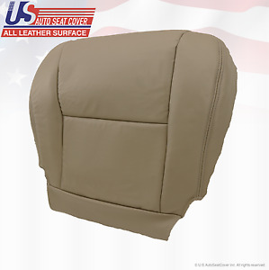 Fits 2006 Toyota Tundra Driver Side Bottom Replacement Seat Cover Vinyl Tan