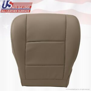 Fits 2004 Tundra Front Driver Side Bottom Replacement Leather Seat Cover Tan