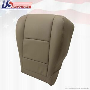 Fits 2003 2004 Toyota Tundra Driver Side Bottom Replacement Vinyl Seat Cover Tan