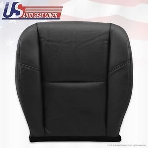 2008 Cadillac Escalade Driver Side Seat Bottom Leather Cover Black Perforaded
