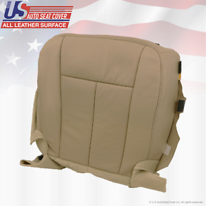 2007 2014 Ford Expedition Driver Side Bottom Perforated Leather Seat Cover Tan