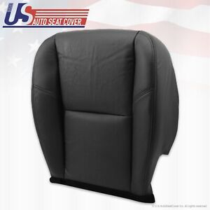 2007 2011 Cadillac Escalade Cooled Seat Driver Side Bottom Leather Cover Black