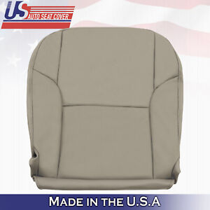 Driver Btm Leather Seat Cover Color Tan Fits 2003 2009 Toyota 4runner Limited