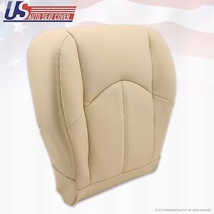 Fits 2000 Lexus Rx300 Driver Side Bottom Replacement Leather Seat Cover Lighttan