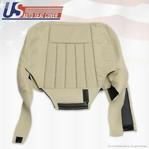 2003 2004 Lincoln Navigator Ultimate Driver Side Bottom Leather Seat Cover Tan