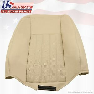 2005 2006 Lincoln Navigator Driver Top Replacement Leather Seat Cover Tan