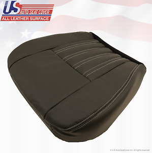 2004 Ford F250 F350 Harley Davidson Passenger Bottom Replacement Seat Cover Blk