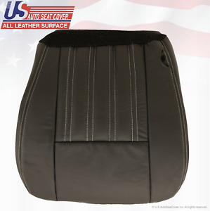 2004 Ford F250 Harley Davidson Crewcab Passenger Bottom Leather Seat Cover Black