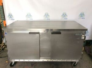 Beverage Air Wtr60a Work Top 60 Inch Stainless Steel Refrigerator