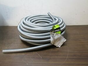 Dataflex Flexible Metal Conduit 1 2 In 100 Ft Coil Free Shipping