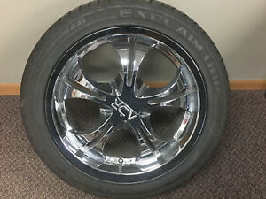 General Exclaim Uhp 245 45 Zr 18 Tires And Adr Wheels Set Of 4