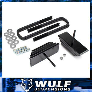 2 8 Front Mini Leaf Leveling Lift Kit For 1999 2004 Ford F350 Super Duty 4wd