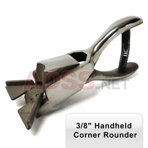 3 8 Inch Heavy Duty Hand Held Corner Rounder Punch