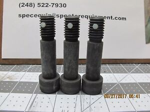 3 Pack 5 8 11 X 2 Socket Head Cap Screw Nylon Locking Pellet b6s5