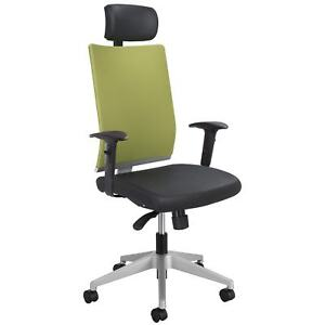Safco Safco 7030wa Tez trade Manager Office Chair With Headrest 7030wa Wasabi