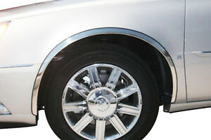 2000 2010 Cadillac Deville Dts Stainless Steel Fender Trim Full Front Cover