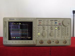 Tektronix Tds784a Scilloscope 1ghz 4gs s Opt s 2f 1m Nist Calibrated 8 2017