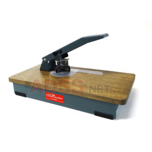 Lassco Wizer Cr 50b Heavy Duty Tabletop Manual Corner Rounder