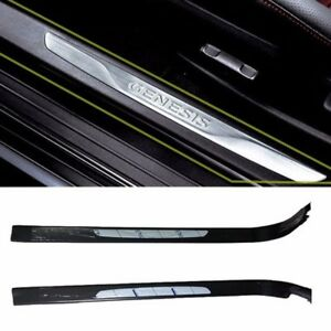 Oem Parts Side Door Sill Scuff Step Trim Set 2p For 2009 Genesis Coupe