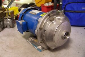 G l Goulds 1 2 Hp Stainless Steel Centrifugal Pump 1 X 1 1 4 1st1c502
