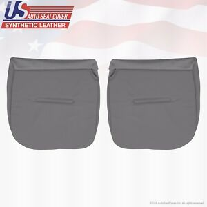 2004 2005 Ford F350 Xl Work Truck Driver Passenger Bottom Vinyl Seat Cover Gry