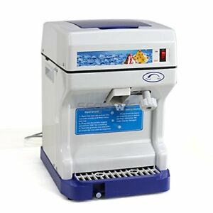 Segawe New Ice Crusher Maker Commercial Ice Shaver Snow Cone Machine Device
